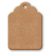 Заготовка Табличка KF235B из МДФ, 12,5х8,9 см, Stamperia