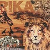 "Салфетка для декупажа ""Коллаж Африка"" бумажная, 346071, 33х33 см"