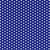 """Салфетка для декупажа """"Горошек белый на синем"""" бумажная, 379207, 33х33 см"""