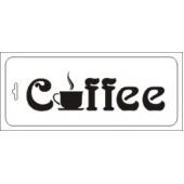 """Трафарет ТИб-кх-003 """"Кофе"""" бордюр Event Design, 10х25 см"""