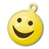 "Бубенчики металлические ""Смайлик"" жёлтые, арт. 8603305, Knorr Prandell, 15 мм, 5 шт."