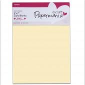 Заготовки для открыток с конвертами PMA150401 кремовые, 17,8х12,7 см, 10 шт., DOCRAFTS