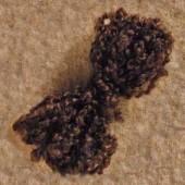 Волосы для куклы Тильда тёмно-коричневые, арт. 712973, Tilda, 10 гр.