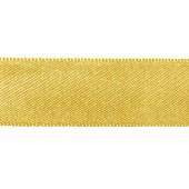 Лента SAFISA сатиновая золотистая, 15 мм, длина 3,5 м, арт. P00110-15мм-54