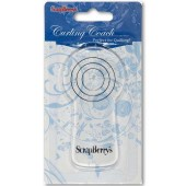 Квиллинг-коуч - линейка для создания ровных завитков для квиллинга SCB2026224, ScrapBerry's, 10х5,3 см