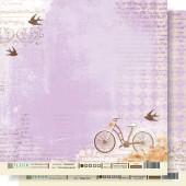 "Бумага для скрапбукинга двухсторонняя FD1000205 ""Счастливое время"" Fleur design, 30х30 см"