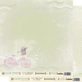 """Бумага для скрапбукинга двухсторонняя FD1000402 """"Шебби Прованс. Идеальный день"""" Fleur design, 30х30 см"""