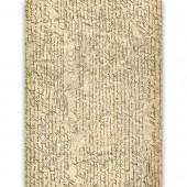 "Рисовая бумага для декупажа Craft Premier CP02138 ""Рукопись"", А3"