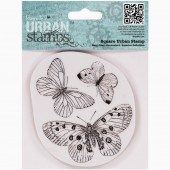 "Штампы резиновые PMA803302 ""Бабочки"" PAPERMANIA, DOCRAFTS, 10,5х9,4 см"