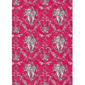 """Рисовая карта Calambour EXCR 09 """"Ангелочки на розовом"""" для декупажа, 35х50 см"""