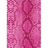 """Бумага для техники DECOPATCH 210 """"Кожа питона розовая"""", 30x40см"""