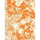 """Бумага для техники DECOPATCH 438 """"Кружево оранжево-белое"""", 30х40см"""