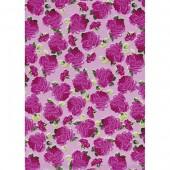 "Бумага для техники DECOPATCH 455 ""Розы на розовом фоне"", 30x40см"