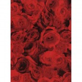 """Бумага для техники DECOPATCH 574 """"Розы красные"""", 30x40см"""