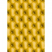 "Бумага для техники DECOPATCH 621 ""Обивка кожа жёлтая"", 30x40см"