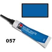 Контур для стекла и керамики Relief Paste, цвет 057 голубой прозрачный, Marabu, 20 мл