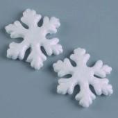 """Заготовка из пенопласта - """"Снежинка"""" объёмная, 7 см, 2 шт., 1015807, EFCO"""