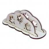 "Салфетница деревянная ""Клён"" – заготовка для декора, арт. 13787, 17,5х6,5х6 см"
