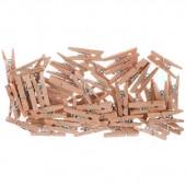 Декоративные Мини-прищепки деревянные PMA174604, Docrafts, 50 шт., 2,5 см