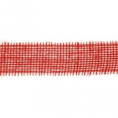 Лента из джута 6676147 красная, Knorr Prandell, шир. 5 см, длина 2 м