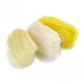 Сизаль в наборе: жёлтый, кремовый, белый, арт. 8024202, KNORR PRANDELL, 3 шт. по 10 гр.